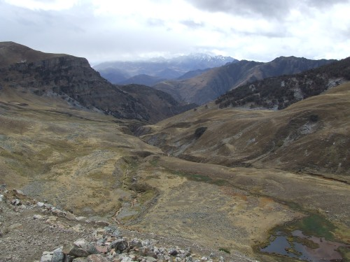 מפגש נחלים בעמק Angocanche